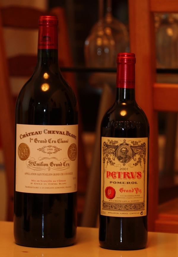 白马酒庄的葡萄酒
