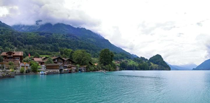 瑞士布里恩茨小镇