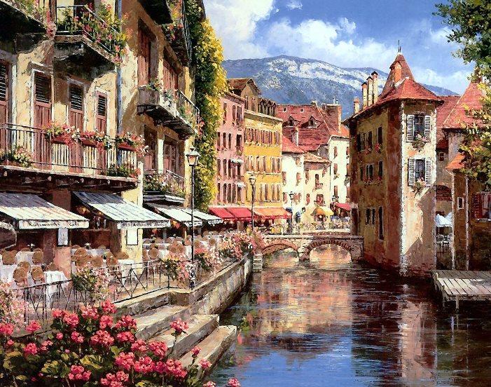 法国小城安纳西