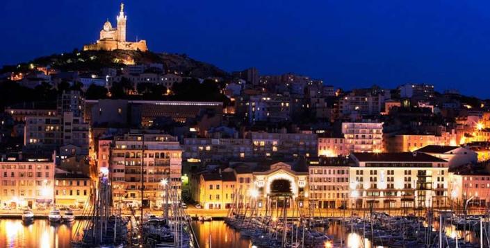 法国南部旅游城市马赛
