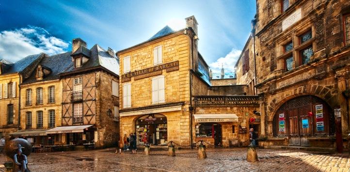 法国南部莎拉小镇