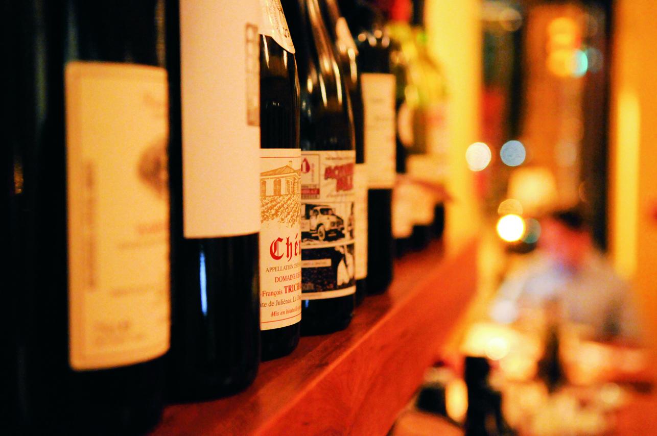 意大利葡萄酒瓶