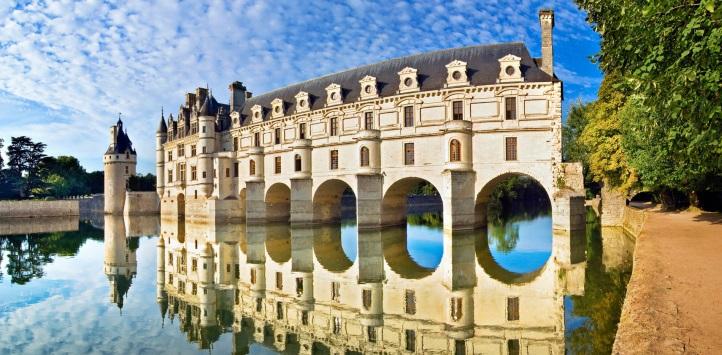 法国城堡:舍农索