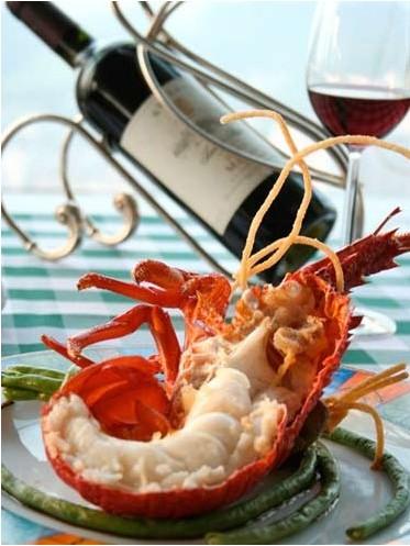 法国大餐之龙虾