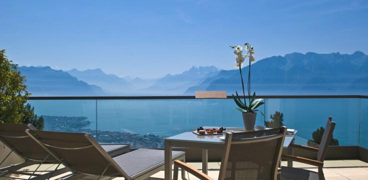 瑞士享受美食