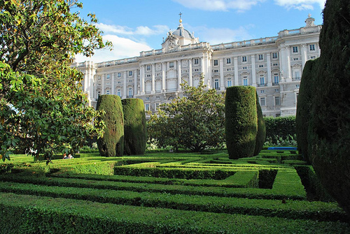 Real de Madrid Palace and Sabatini Gardens