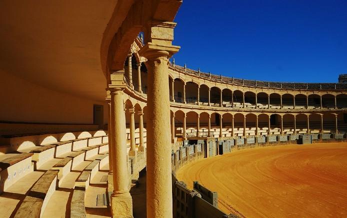 西班牙最古老的斗牛场