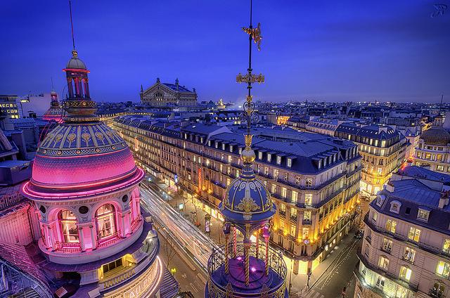 巴黎春天购物