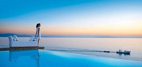 希腊浪漫爱琴海