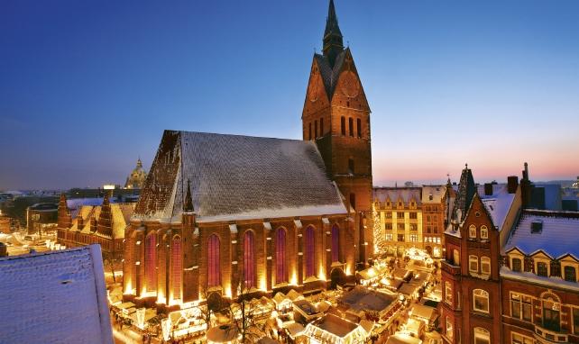 汉诺威圣诞集市