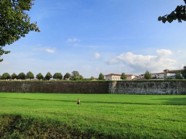 意大利卢卡城墙