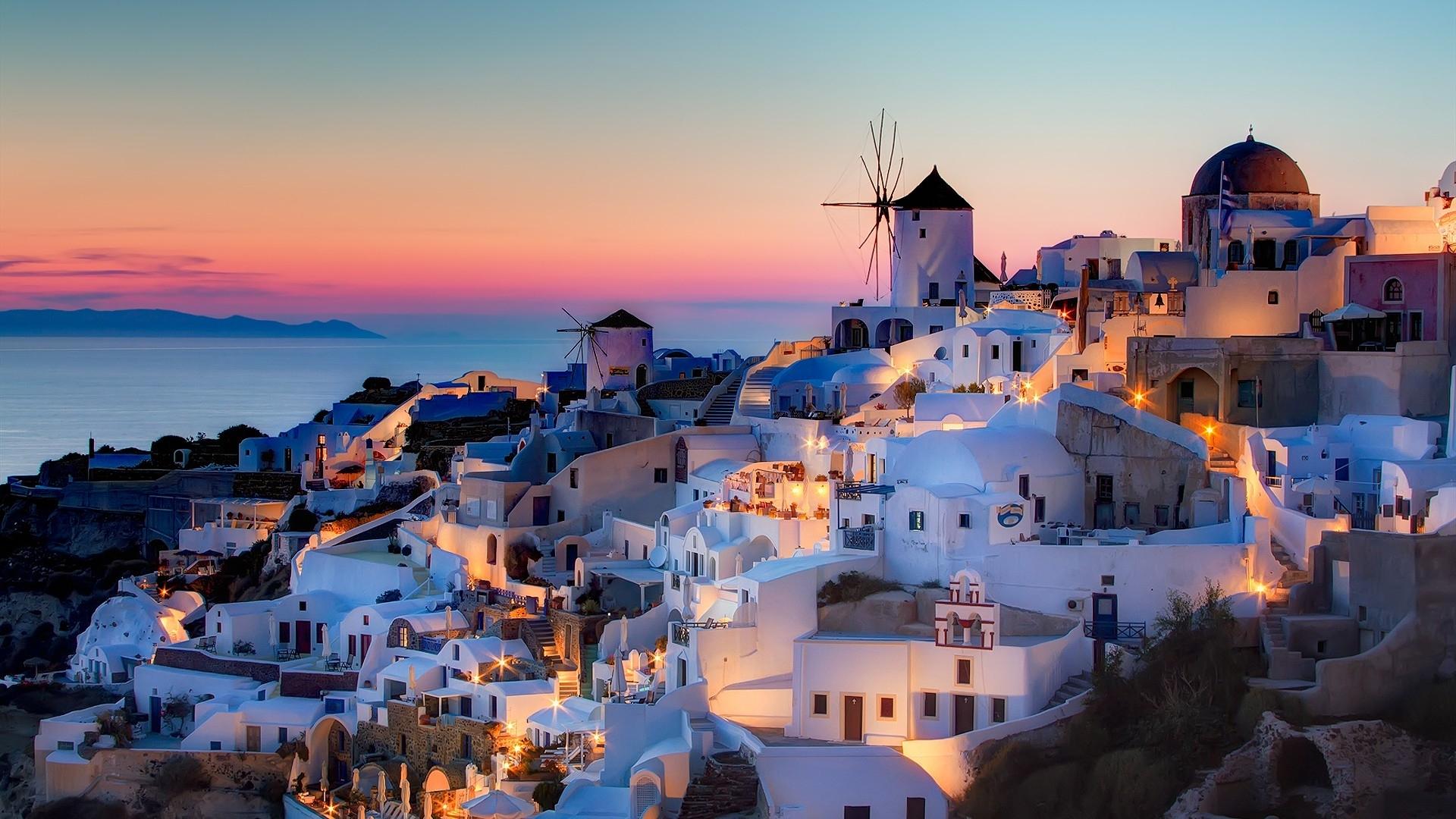 希腊 - 圣托里尼岛