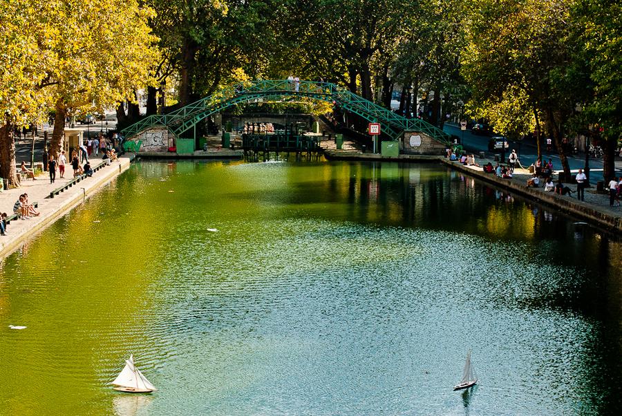 法国私人订制旅行之圣马丁运河