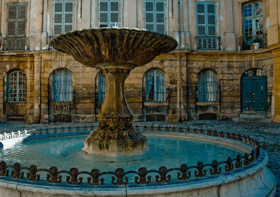 普罗旺斯蜜月游之艾克斯喷泉