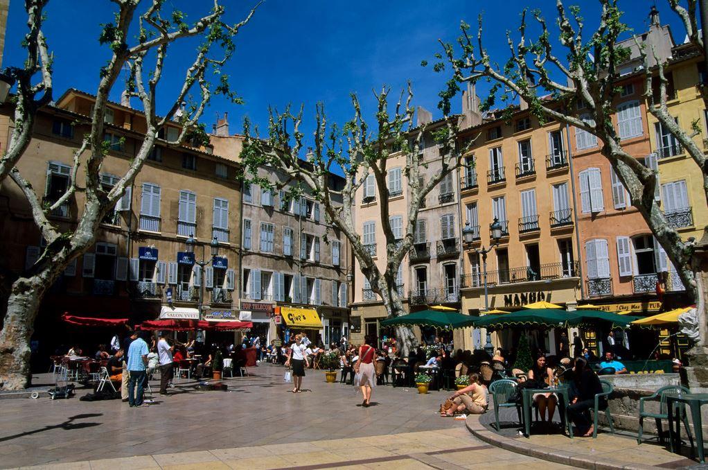 普罗旺斯蜜月游之艾克斯街景