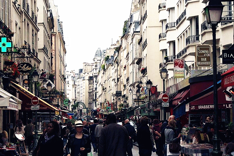 法国私人订制旅行之蒙特吉尔街