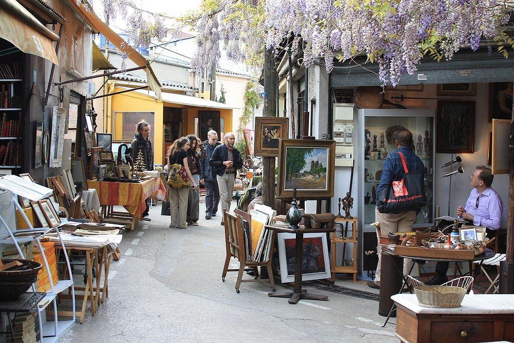 法国私人订制旅行——圣图安跳蚤市场