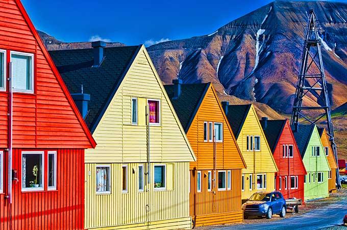 挪威的斯瓦尔巴特群岛