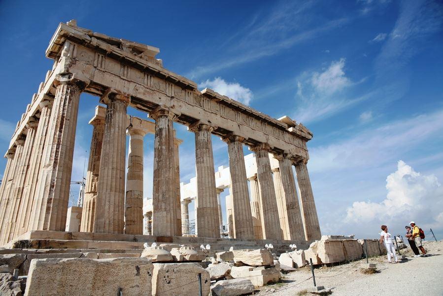 希腊浪漫之旅之雅典卫城