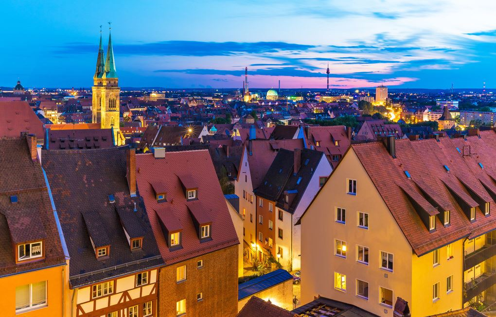 斯德哥尔摩夜景