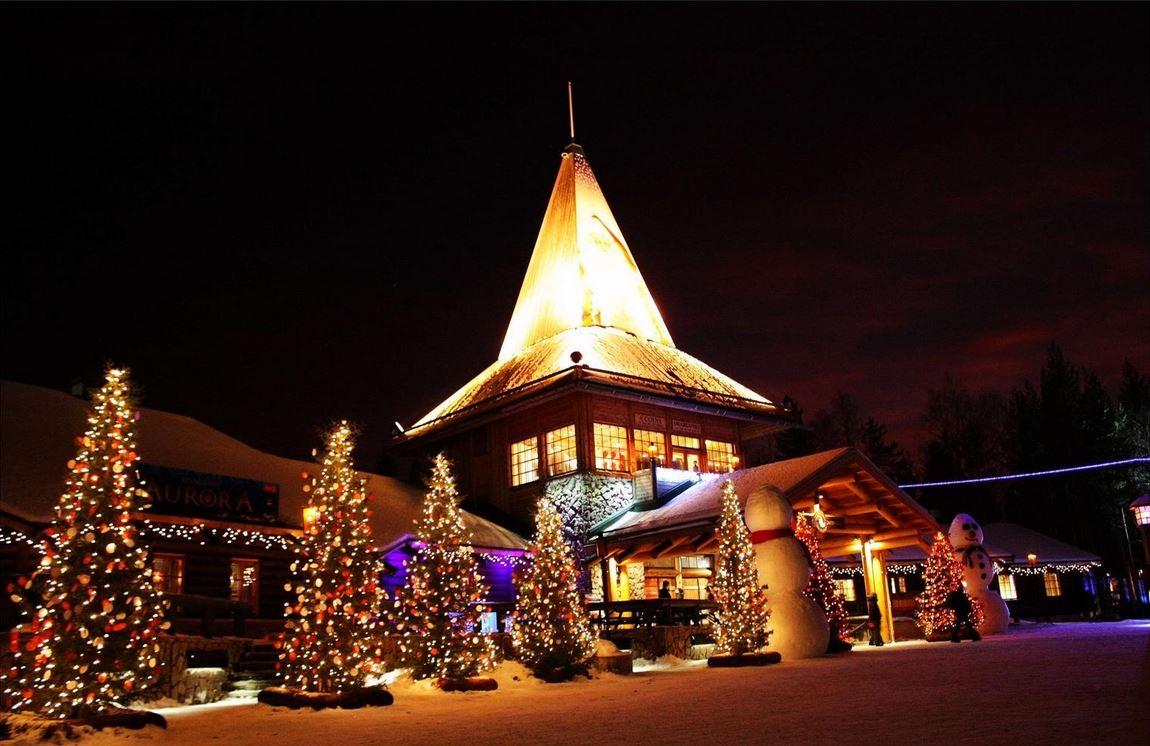 罗瓦涅米的圣诞老人村