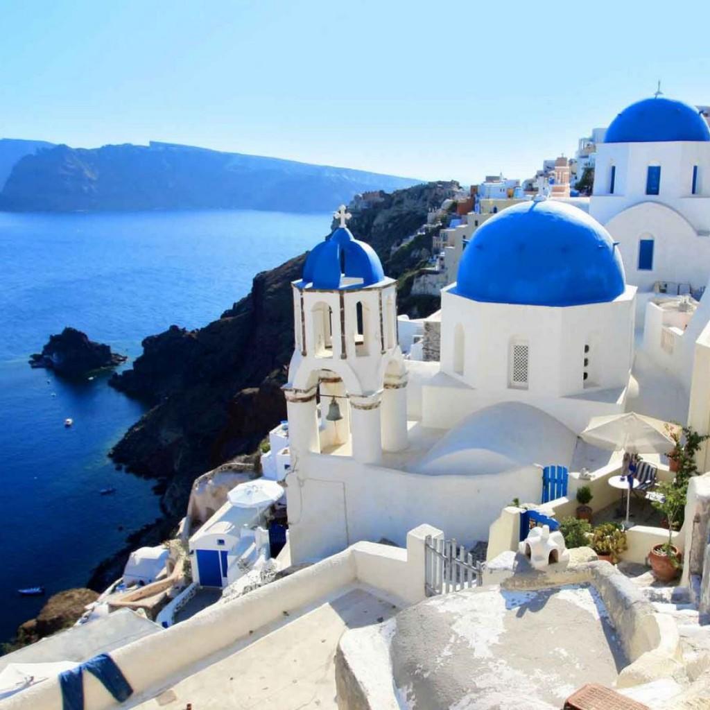 希腊浪漫之旅——圣托里尼