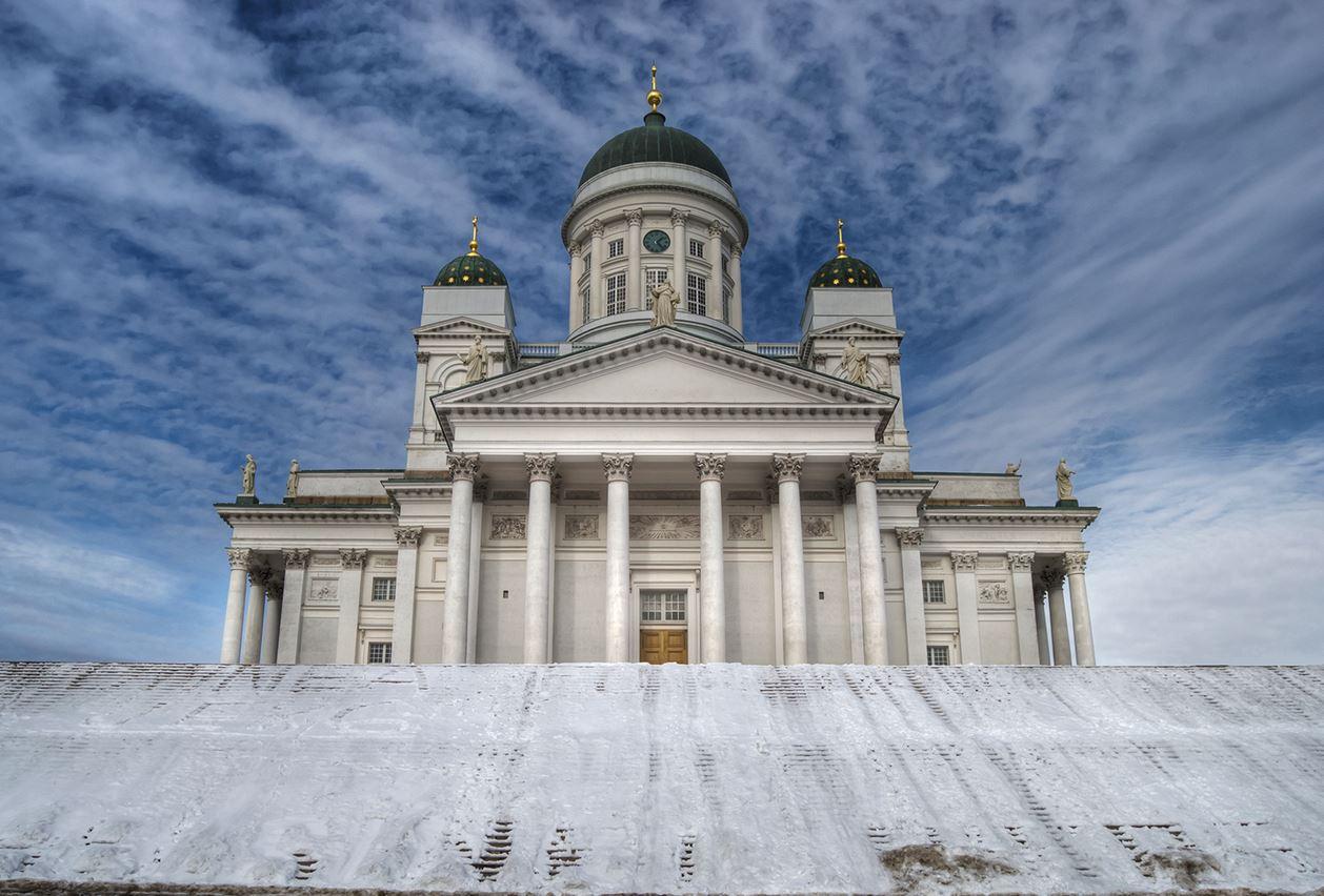 芬兰高端旅游之赫尔辛基大教堂