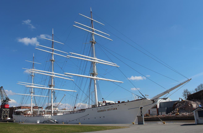 芬兰高端旅游之Forum Marinum海事中心