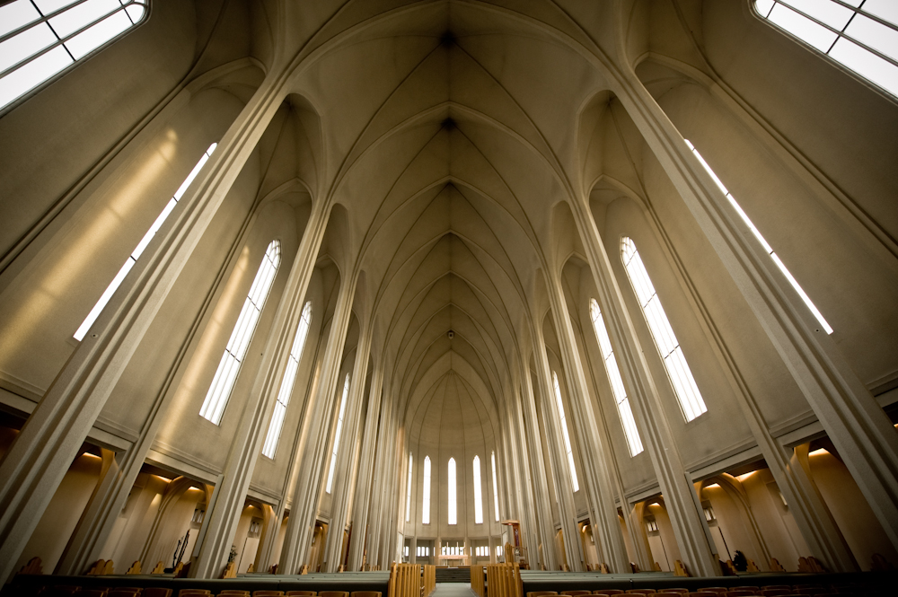 冰岛高端旅游之哈尔格林姆斯教堂