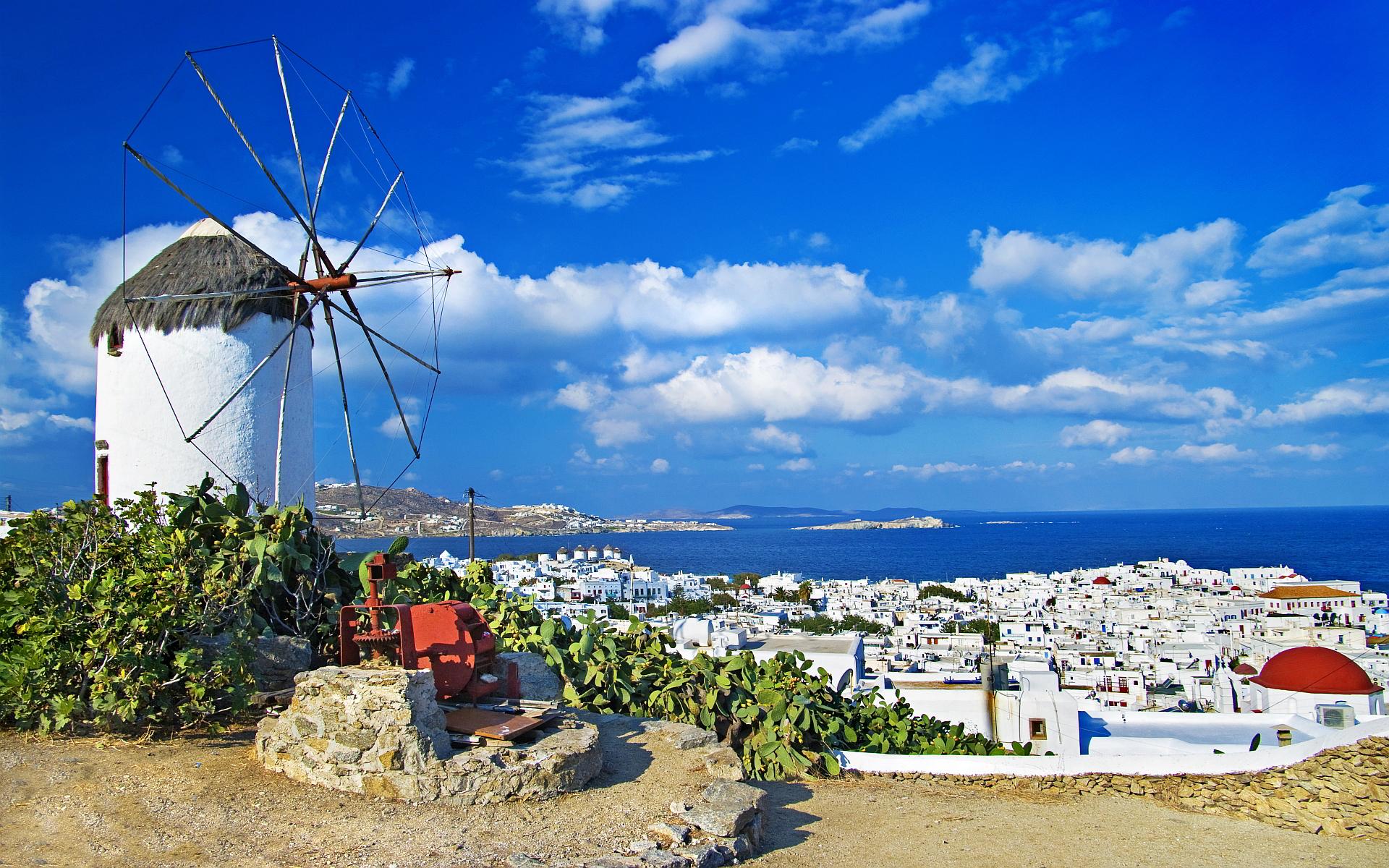 """【希腊浪漫之旅】米克诺斯岛的""""同性恋海滩"""""""
