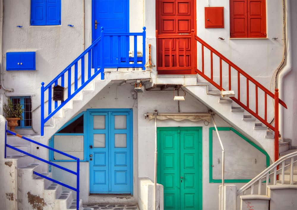 【希腊浪漫之旅】米克诺斯岛的建筑