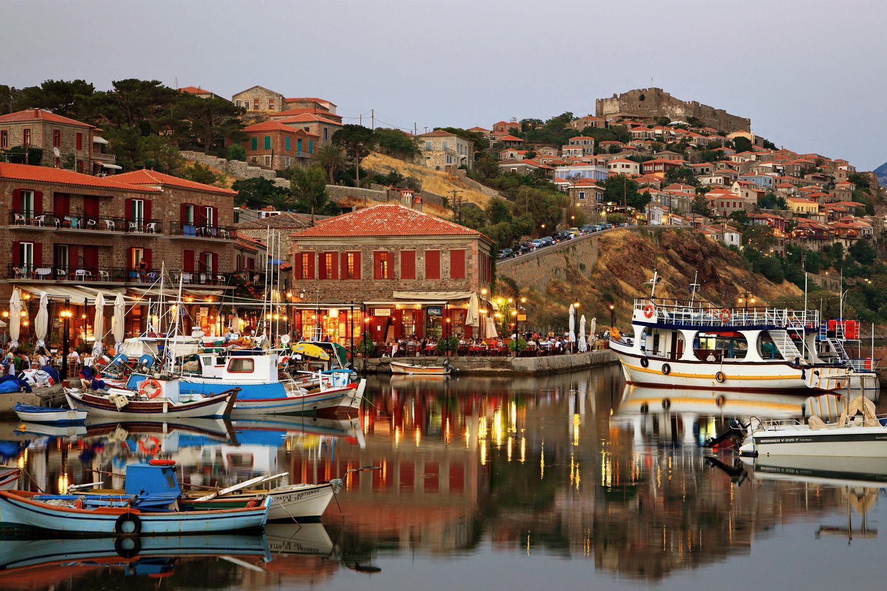 希腊浪漫之旅——米蒂利尼