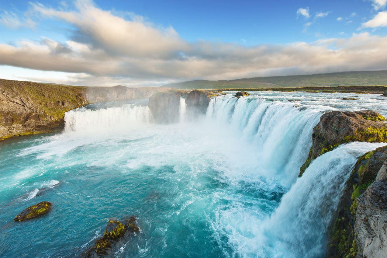 冰岛高端旅游之黄金瀑布