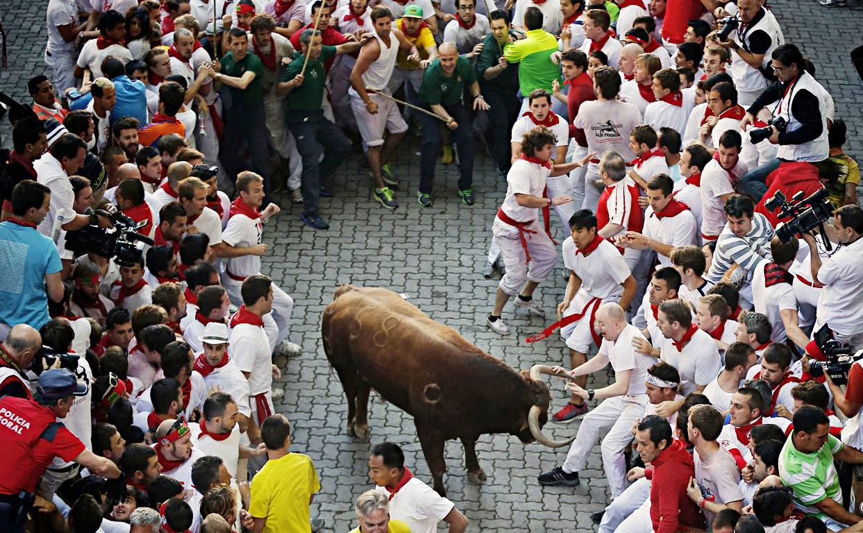潘普洛纳奔牛节