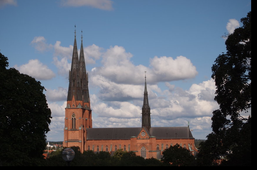 Uppsala Domkyrka 乌普萨拉大教堂