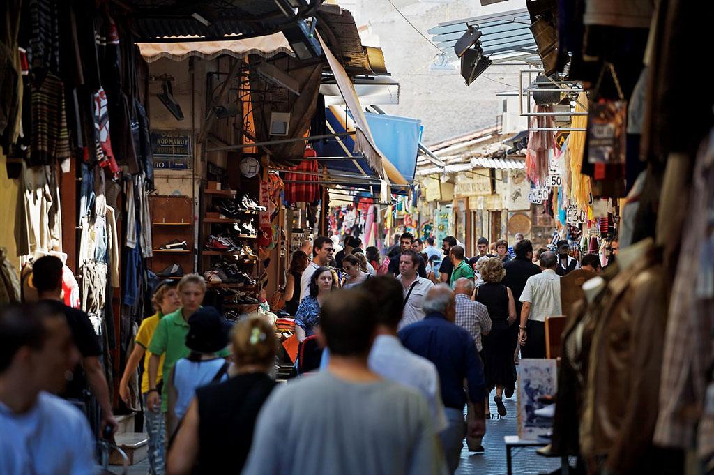 雅典老城区