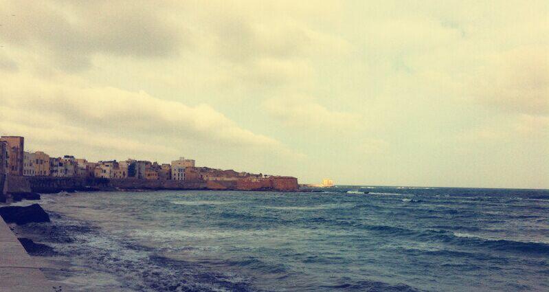 西西里岛海滩