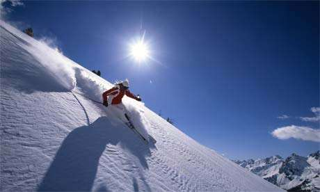 霞慕尼滑雪