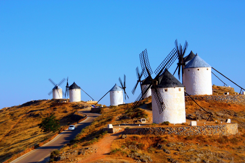 西班牙风车小镇