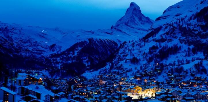 瑞士高端旅游之采尔马特小镇