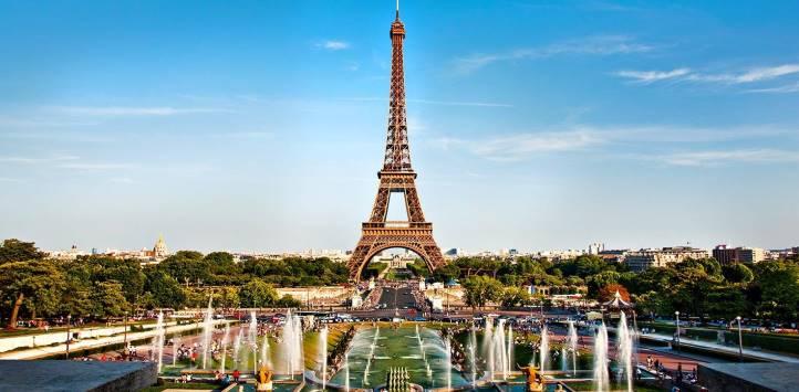 法国蜜月旅游之埃菲尔铁塔