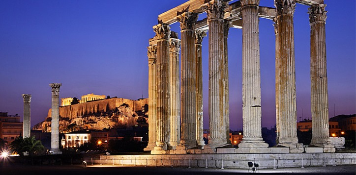 希腊宙斯神殿