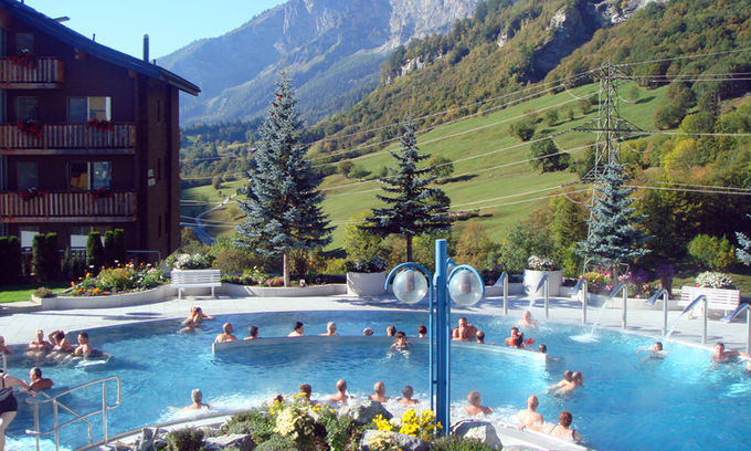 瑞士温泉小镇