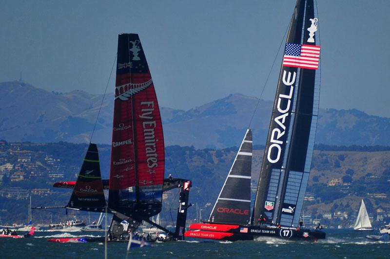 美国旧金山帆船赛