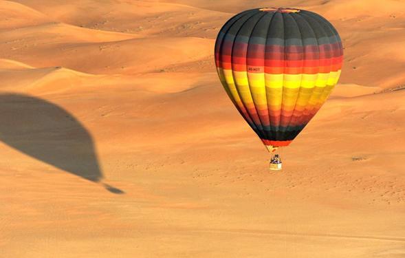 迪拜热气球