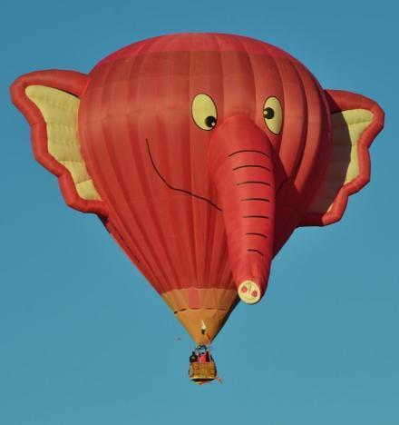 法国洛林蒙迪艾尔热气球节