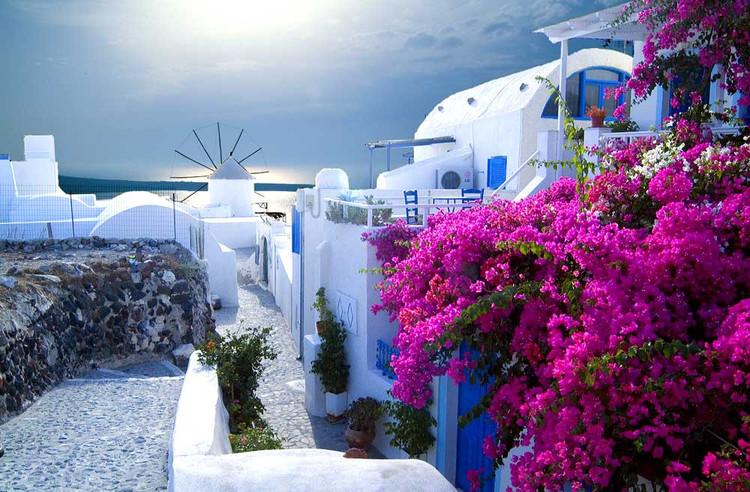希腊圣托里尼岛Santorini