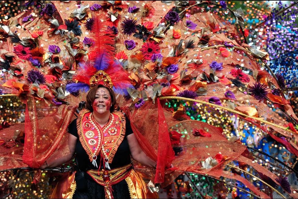 英国伦敦诺丁山狂欢节