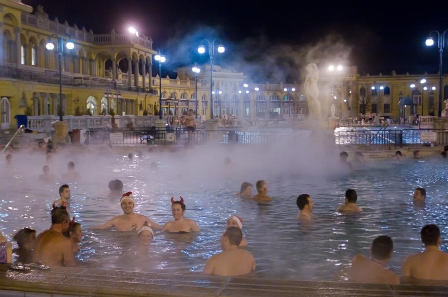 匈牙利温泉