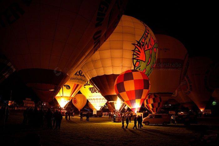 瓦尔施泰因国际热气球节